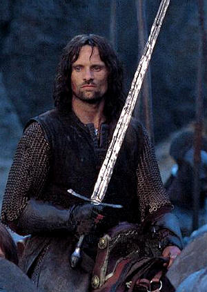 Aragorn nel prossimo The Two Towers
